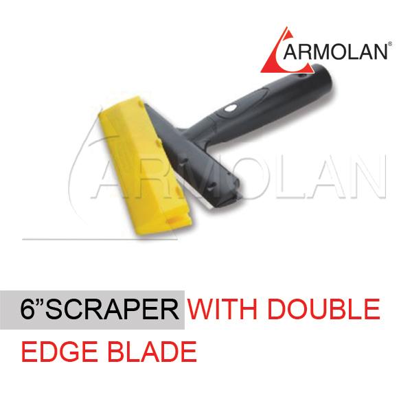 6″ Scraper with double edge blade